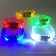 звук активированный светодиодные браслеты