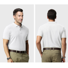 OEM Fashion European Style Custom Made Embroidered Logo Polo Shirt