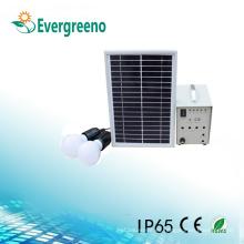 Sistema de energía solar al aire libre del cargador del USB de la luz del panel de la corriente LED