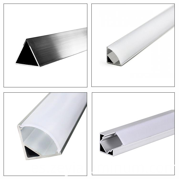 LED light aluminum profile frame