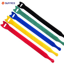 Себя-замок крюк и Петля кабель ремешок с Подгонянным размером