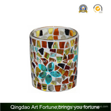 Mosaik Votive Cup Glas Teelicht Kerzenständer