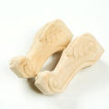 12*5cm small wooden feet for sofa cabinet