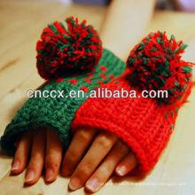 Conception de PK17ST102 pour les gants de main pointillés de dames