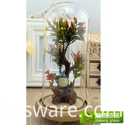 Heat Resistant Borosilicate Glass dome
