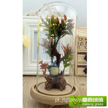 Modern Glass Dome Centerpiece Terrarium Vase