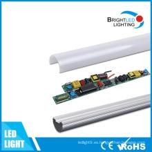 60cm, 120cm, 150cm Driver extraíble LED T8 tubo de iluminación
