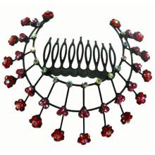 Peigne à cheveux en diamant de mode (XHB1094)
