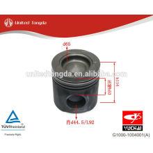 Pistão YC4G do motor de YuChai G1000-1004001 (A)