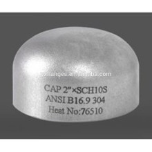 Gost standard stainless steel pipe end cap