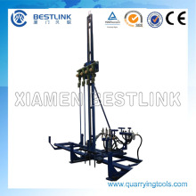 Pneumatic Mobile Rock Drill for Horizontal Bl28-4ah