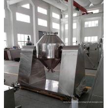 Mezclador cónico doble de la serie de 2017 W, máquina del mezclador de la harina del SS, mezclador horizontal del v tipo