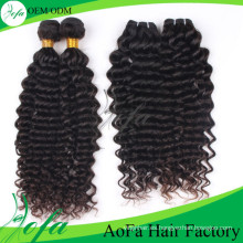 Extensiones mongoles de cabello virgen humano (AFDW)