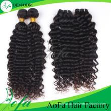 Extensões humanas do cabelo do Virgin do Mongolian (AFDW)