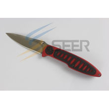 Cuchillo plegable del acero inoxidable 420 (SE-725)