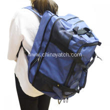 Big capacity wheeled travel bag&backpack