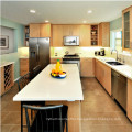 Hot sale American modern designs solid wood kitchen cabinet
