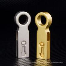 Dourado e prata OTG USB Flash Drive para amostra grátis
