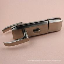 Cerradura de puerta de cristal doble de la calidad con la manija