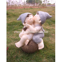 Polyresin Sculpture Doll Decoration Statues
