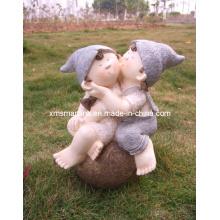 Polyresinの彫刻人形の装飾像