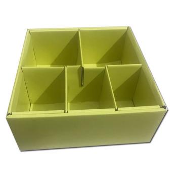 Innere Papierbox mit Trennwand