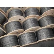 Heat-treated Galvanized steel ASTM Wire Rope , 1*7 Dia 1.5m