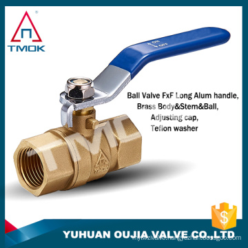 brass ball valve importer in delhi with brass body unon nipple forged and cw617n NPT threaded brass ball valve