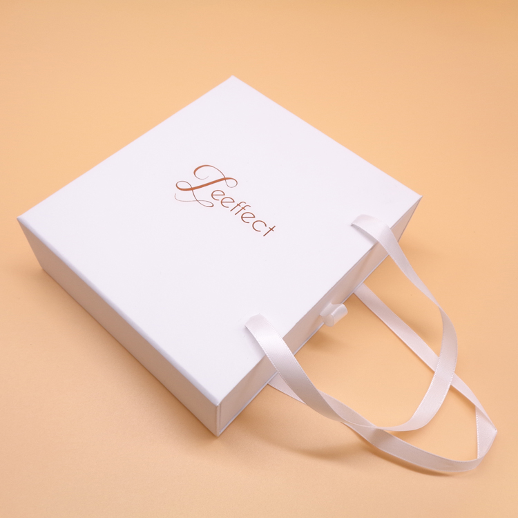 White Paper Sliding Gift Box