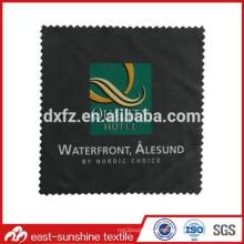Tissu ultra-abrasif ultra résistant à l'image colorée en microfibre imprimé; Tissu de nettoyage pour lunettes microfibres