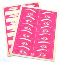 Lã de maquiagem permanente / eyeliner prática pele