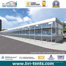 10x30m Baldachin Zelt Triple Decker Zelt Doppel Decker Zelt für Outdoor-Ausstellung