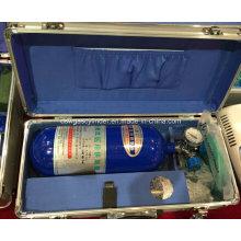 Cilindro de oxigênio médico de alta pressão 8L