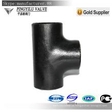 4 polegadas de aço de carbono igual tee acessórios de montagem de peso