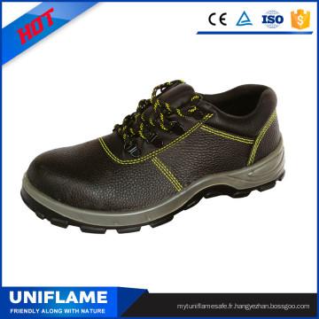 Chaussures industrielles de sécurité de travail d'homme d'orteil en acier