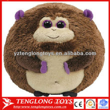 Monkey style plush ball toy stuffed plush pet toys for dogs