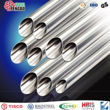 Tubería de acero inoxidable sin costura ASTM A511 Tp321h / Fábrica de tubos