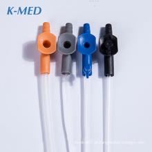 consumíveis médicos cateter de sucção em pvc de grau médico