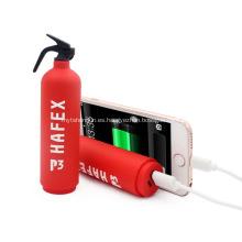 Logotipo promocional Extintor de fuego Banco de energía