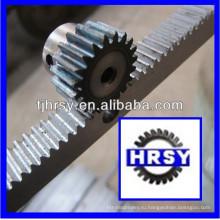 C45 сталь М1 зубчатая рейка и шестерня