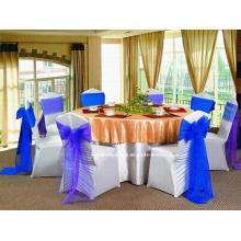 Белая спандекса стул Обложка для свадьбы (YC-3)