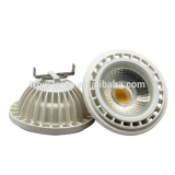 Narrow bean angle 12W AR111 LED COB spotlight with G53 base or GU10 base