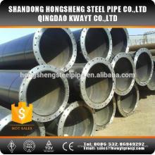 Großer Durchmesser Ssaw Geschweißter Stahlrohr mit Flansch
