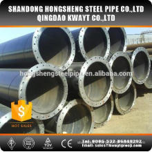 Large Diameter Ssaw Welded Steel Pipe with flange