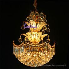 CE UL certificada pequeñas lámparas de cristal de cristal colgante de iluminación