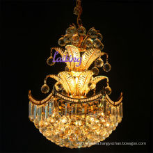 CE UL certificated small crystal glass chandeliers pendant lighting