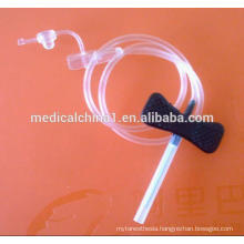 Disposable Sterile Vacuum Butterfly Blood Collection Needle
