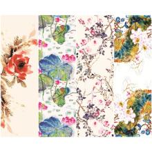 Digitaldruck-kundenspezifischer Polyester-Schal (C-026)