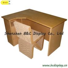 Tableau de bureau de carton de protection de l'environnement / bureau d'ordinateur / livre livre, meubles en carton (B & C-F004)