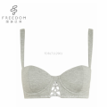 FDBL7112901 bangladeshi hot sexy photo tissu naturel filles nouveau design coton demi-tasse sous-vêtements soutien-gorge en images